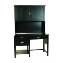 Yukon 3 Drawer Desk With Open Storage (Drawers on left only)