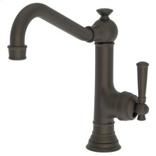 Weathered Brass Single Handle Kitchen Faucet
