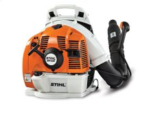 A professional-grade backpack blower with excellent fuel economy and enhanced comfort.
