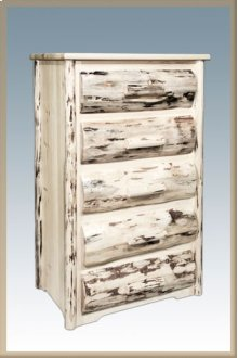 Montana Rustic 5 Drawer Chest of Drawers