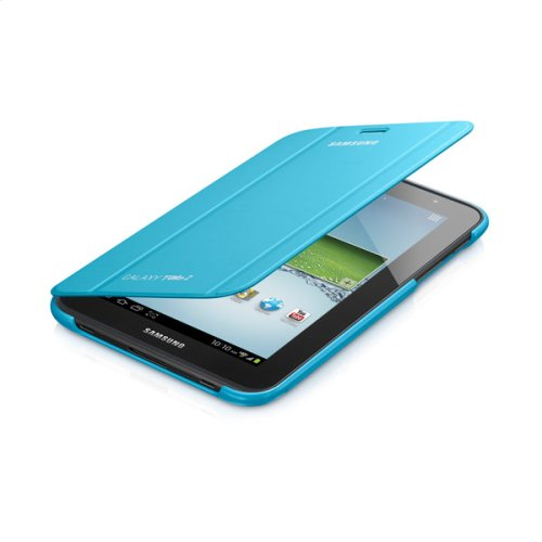 Galaxy Tab 2 7.0 Magnetic Book Cover, Light Blue