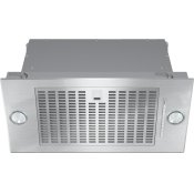 DA 2360 - Insert ventilation hood with energy-efficient LED lighting and backlit controls for easy use.