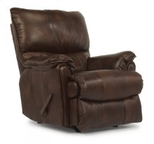 Stockton Leather Rocking Recliner