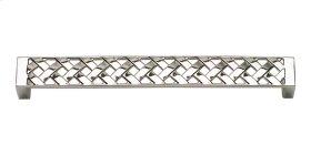 Lattice Pull 6 5/16 Inch (c-c) - Polished Nickel