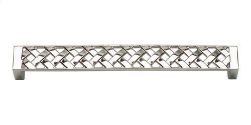 Lattice Pull 6 5/16 Inch (c-c) - Polished Nickel