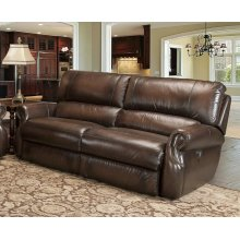 Hawthorne Brown Power Sofa