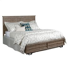 Foundry Panel King Bed - Complete