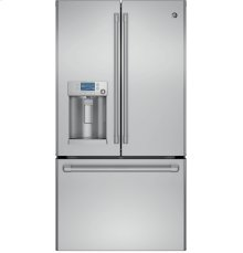 EDMOND LOCATION ONLY! - GE Cafe Series ENERGY STAR 27.8 Cu. Ft. French-Door Refrigerator with Hot Water Dispenser