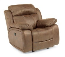 Como Fabric Power Gliding Recliner