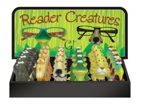 25 pc. assortment. Reader Creatures w/ Counter Display.