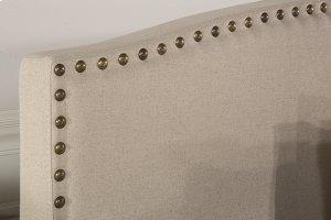 Kerstein Fabric Headboard - King - Headboard Frame Not Included - Lt Taupe