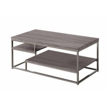 Modern Dark Grey Coffee Table
