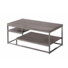 Modern Dark Grey Coffee Table