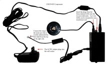 LED Lighting Kit (power Supply, 3-way Touch Control, & Junction Box)
