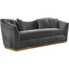 """Arabella Velvet Sofa - 90"""" W x 35"""" D x 32.5"""" H"""
