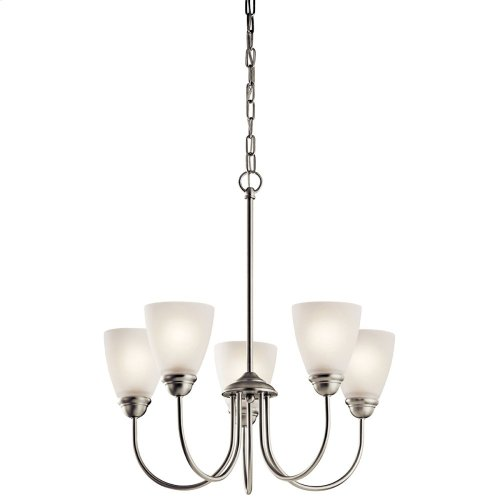 Jolie Collection Jolie 5 light Chandelier NI