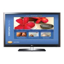 """55"""" class (55.0"""" measured diagonally) Pro:Centric LCD Widescreen HDTV with Applications Platform"""