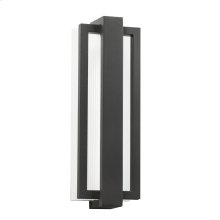 Sedo Collection Outdoor Wall 1 Light LED SBK
