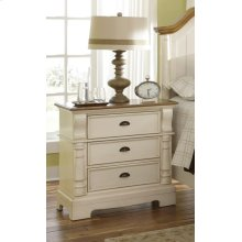 Oleta Cottage Three-drawer Nightstand