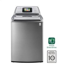 Smart ThinQ 4.7 cu. ft. Ultra Large Capacity High Efficiency Top Load SmartWasher with Allergiene