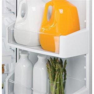 Glass freezer shelves