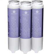 GE® GSWF3PK REFRIGERATOR WATER FILTER 3-PACK Product Image