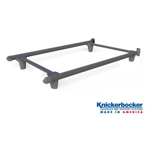 Grey Twin EmBrace™ Bed Frame