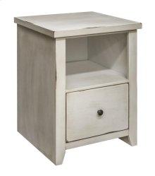 Calistoga White File Cabinet