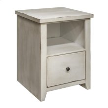 Calistoga White File Cabinet