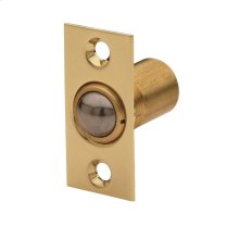 Lifetime Polished Brass Adjustable Ball Catch