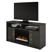Caroline Media Console Electric Fireplace