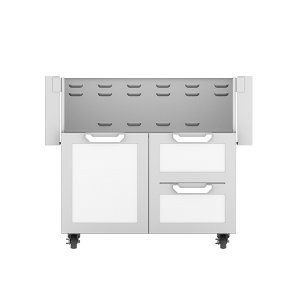 "Hestan36"" Hestan Outdoor Tower Cart with Door/Drawer Combo - GCR Series - Froth"