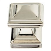 Wadsworth Knob 1 1/4 Inch - Polished Nickel