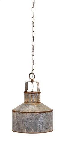 George Galvanized Pendant Light
