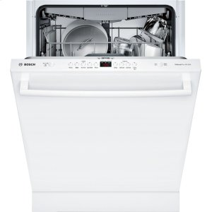 Bosch100 Series Dishwasher 24'' White SHXM4AY52N