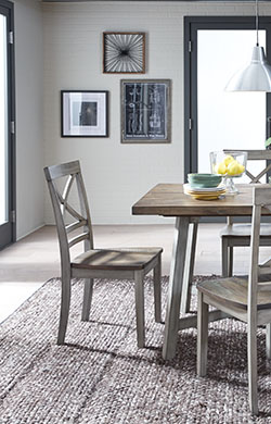 Hidden · Additional Counter Height Table And 4 Chairs