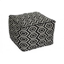 Diamond Pattern Pouf