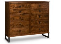 Cumberland 10 Drawer Mule Dresser Product Image