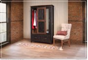 2 Drawer, 1 Sliding door, 1 Door Armoire Product Image