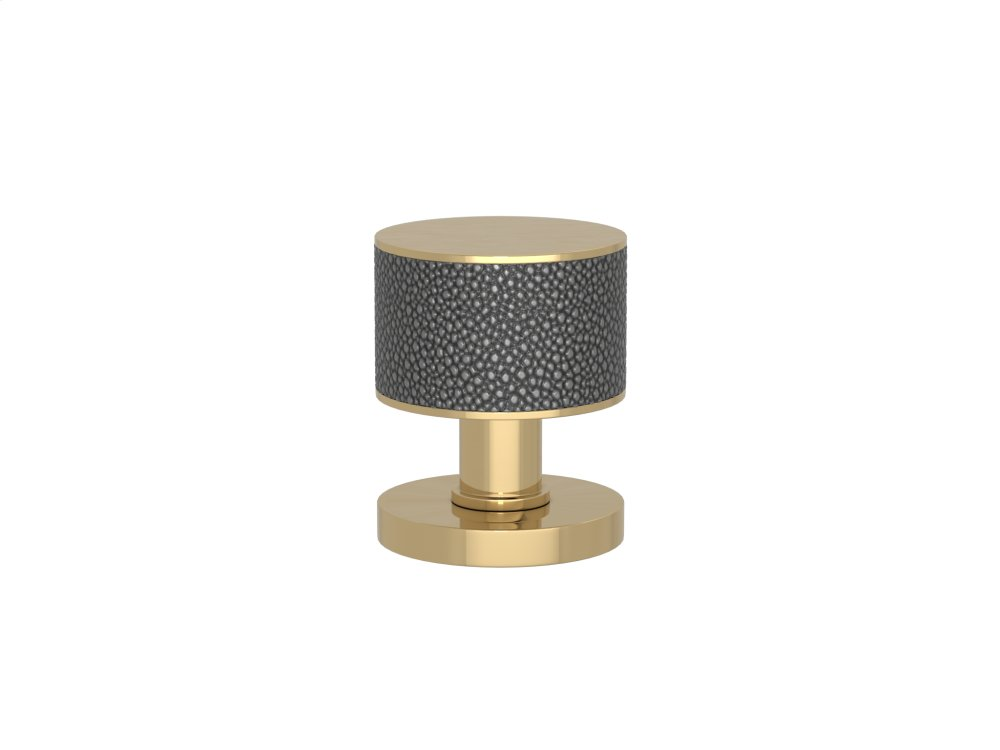 Stacked Shagreen Recess Amalfine In Alupewt And Polished Brass