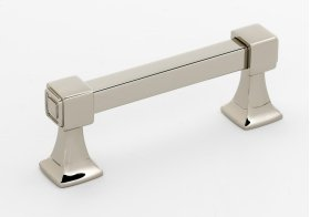 Cube Pull A985-3 - Polished Nickel