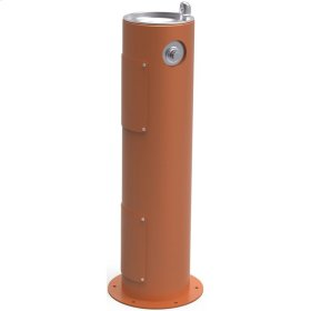 Elkay Outdoor Fountain Pedestal Non-Filtered, Non-Refrigerated Freeze Resistant Terracotta