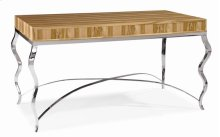 Writing Desk With Metal Base