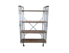Emerald Home Ac102-60 Laurell Hill Bookcase, Patina Gray