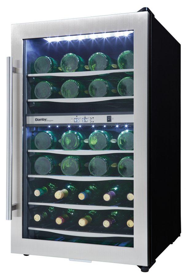 Dwc040a3bssdd Danby Danby Designer 38 Bottle Wine Cooler