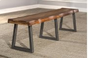 Emerson Bench With Manufacture Live Edge - Ctn A - Top Only Product Image
