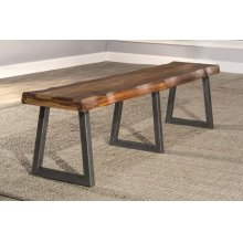 Emerson Bench With Manufacture Live Edge - Ctn A - Top Only