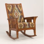 Las Cruces Fabric Rocker