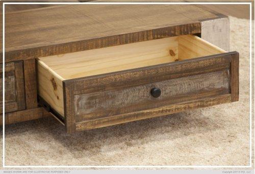 5/0 Storage Footboard w/ 2 Drawers & Rails