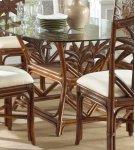 Havana Palm Indoor Rattan & Wicker Rectangular Dining Table Product Image